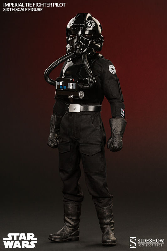 Sideshow - TIE Fighter Pilot Sixth Scale Figure Tiepil10