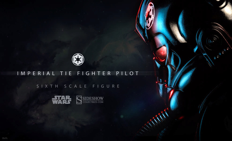 Sideshow - TIE Fighter Pilot Sixth Scale Figure Tiepil11