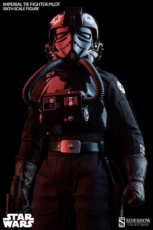 Sideshow - TIE Fighter Pilot Sixth Scale Figure Tiepil13