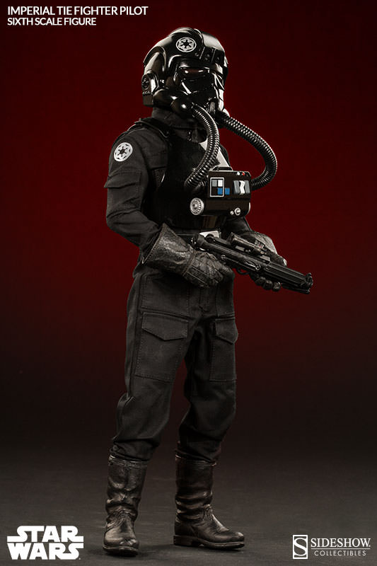 Sideshow - TIE Fighter Pilot Sixth Scale Figure Tiepil14