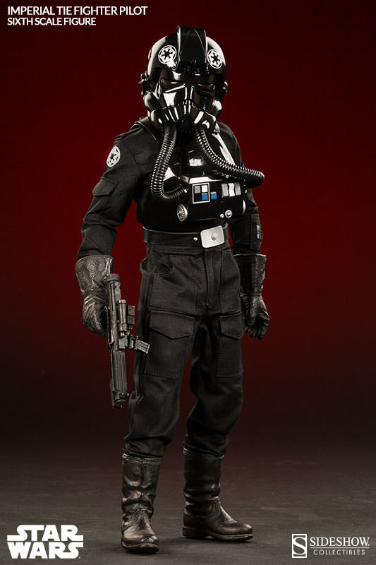 Sideshow - TIE Fighter Pilot Sixth Scale Figure Tiepil15