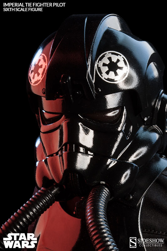Sideshow - TIE Fighter Pilot Sixth Scale Figure Tiepil16