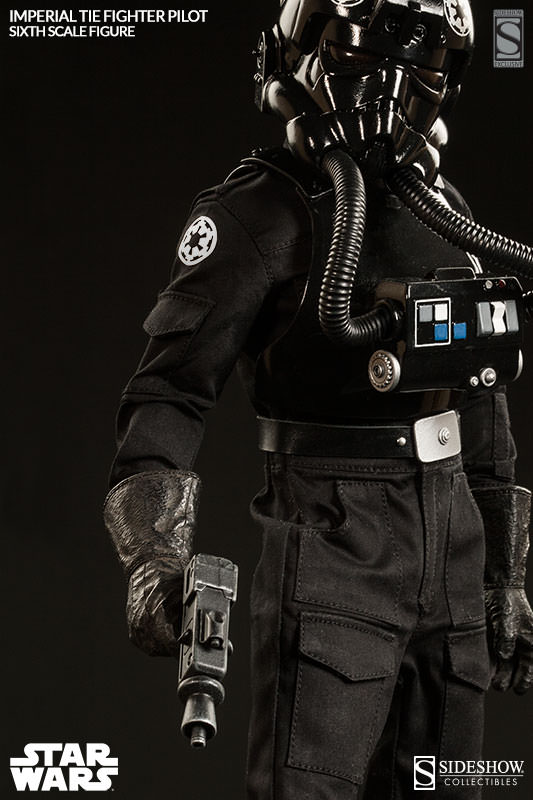 Sideshow - TIE Fighter Pilot Sixth Scale Figure Tiepil21
