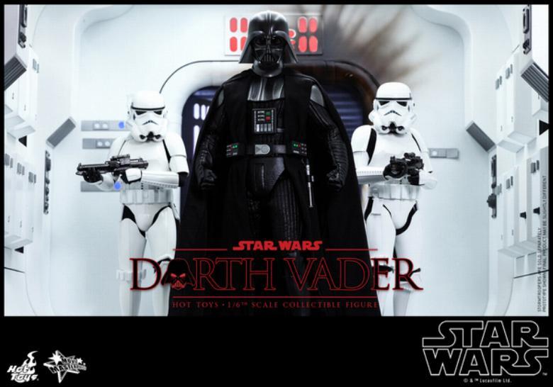 Hot Toys Star Wars ANH 1/6th Darth Vader Collectible Figure  Vader010
