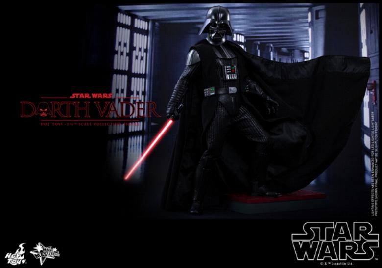 Hot Toys Star Wars ANH 1/6th Darth Vader Collectible Figure  Vader011