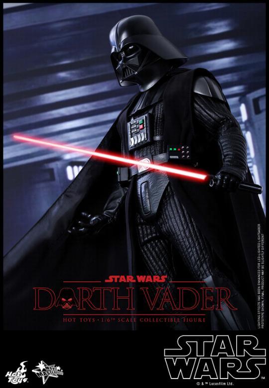 Hot Toys Star Wars ANH 1/6th Darth Vader Collectible Figure  Vader012