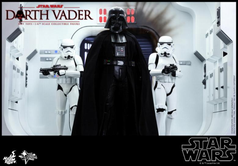 Hot Toys Star Wars ANH 1/6th Darth Vader Collectible Figure  Vader013