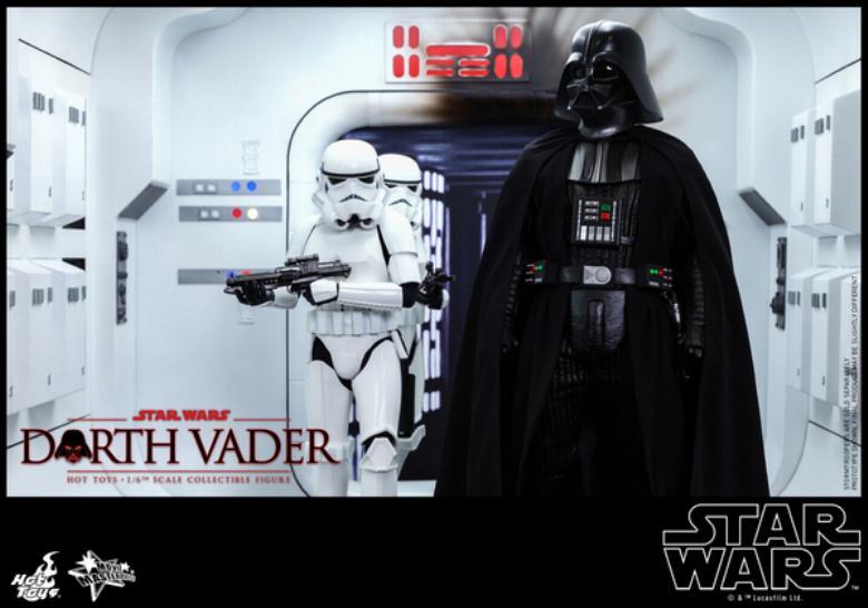 Hot Toys Star Wars ANH 1/6th Darth Vader Collectible Figure  Vader014