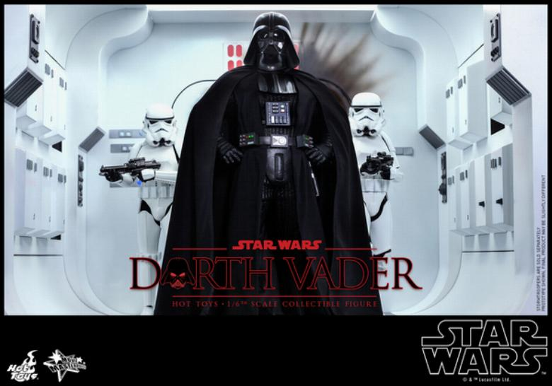 Hot Toys Star Wars ANH 1/6th Darth Vader Collectible Figure  Vader016