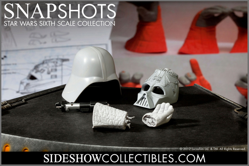 Sideshow - Darth Vader Deluxe Sixth Scale Figure  Vader018