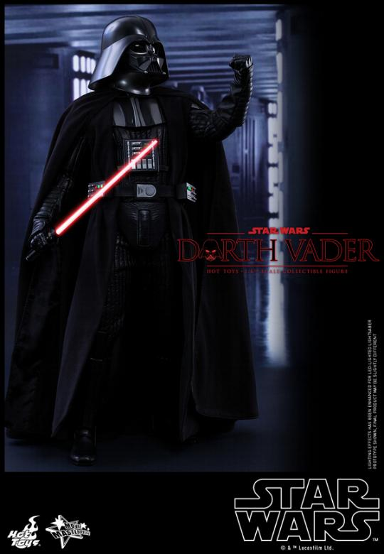 Hot Toys Star Wars ANH 1/6th Darth Vader Collectible Figure  Vader112