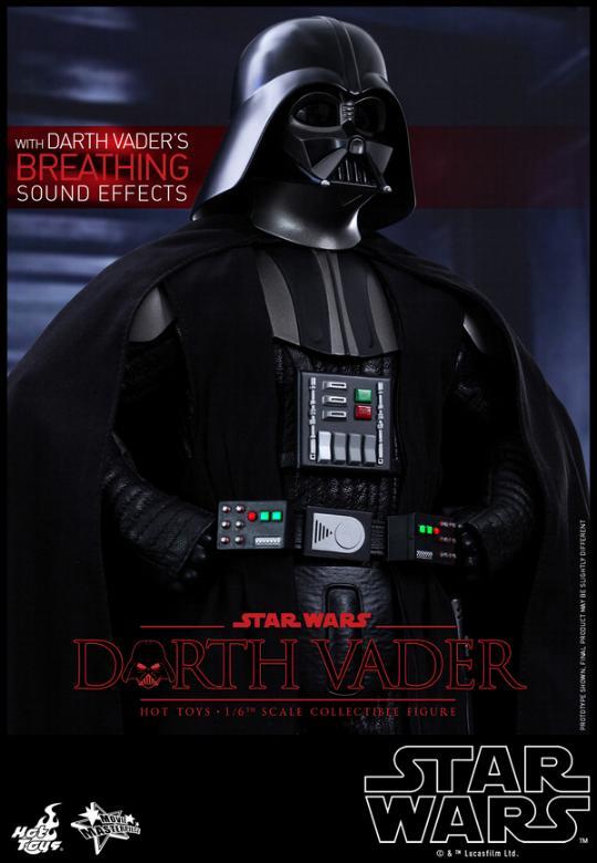 Hot Toys Star Wars ANH 1/6th Darth Vader Collectible Figure  Vader113