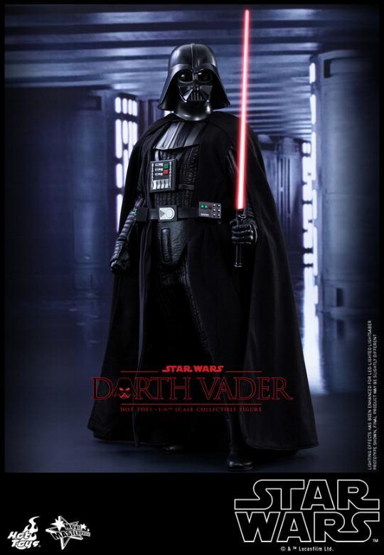 Hot Toys Star Wars ANH 1/6th Darth Vader Collectible Figure  Vader114