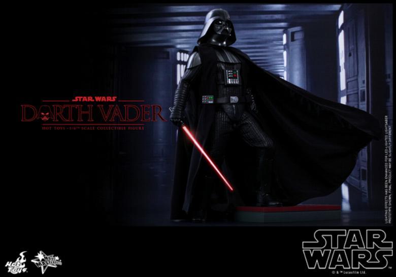 Hot Toys Star Wars ANH 1/6th Darth Vader Collectible Figure  Vader115