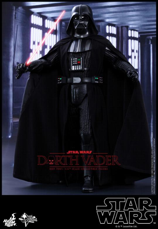 Hot Toys Star Wars ANH 1/6th Darth Vader Collectible Figure  Vader116