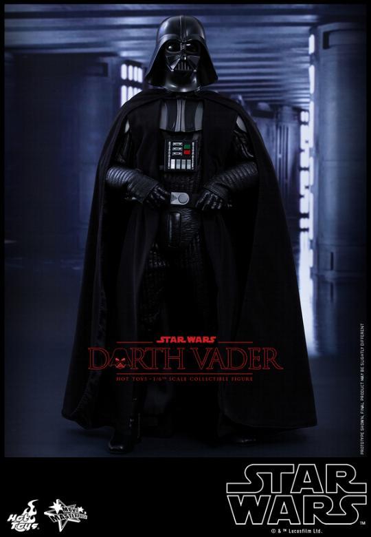 Hot Toys Star Wars ANH 1/6th Darth Vader Collectible Figure  Vader117