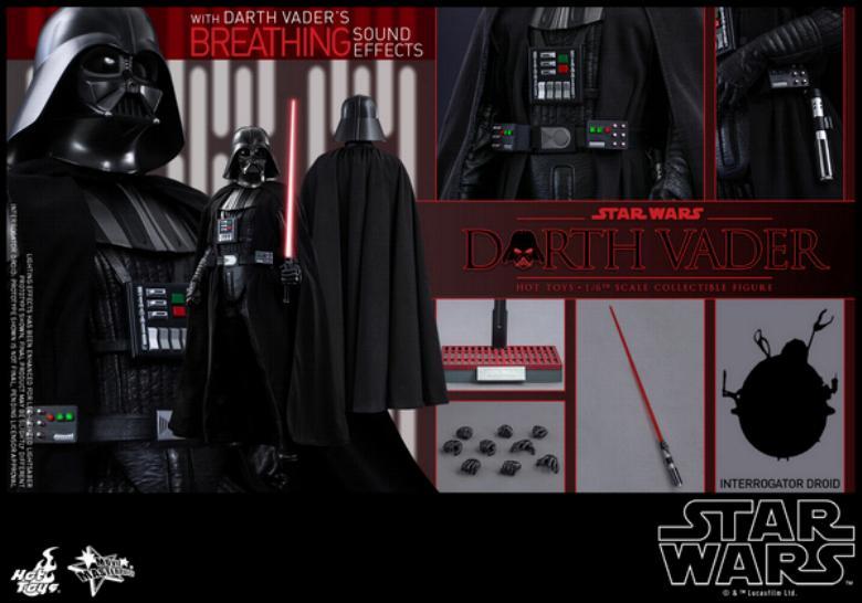 Hot Toys Star Wars ANH 1/6th Darth Vader Collectible Figure  Vader119