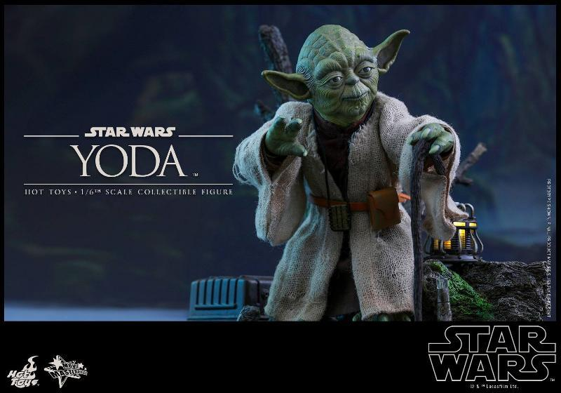 Hot Toys Star Wars V - 1/6th scale Yoda Collectible Figure Yoda0110