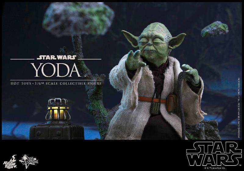Hot Toys Star Wars V - 1/6th scale Yoda Collectible Figure Yoda0310