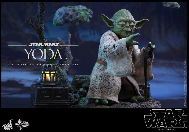 Hot Toys Star Wars V - 1/6th scale Yoda Collectible Figure Yoda0510