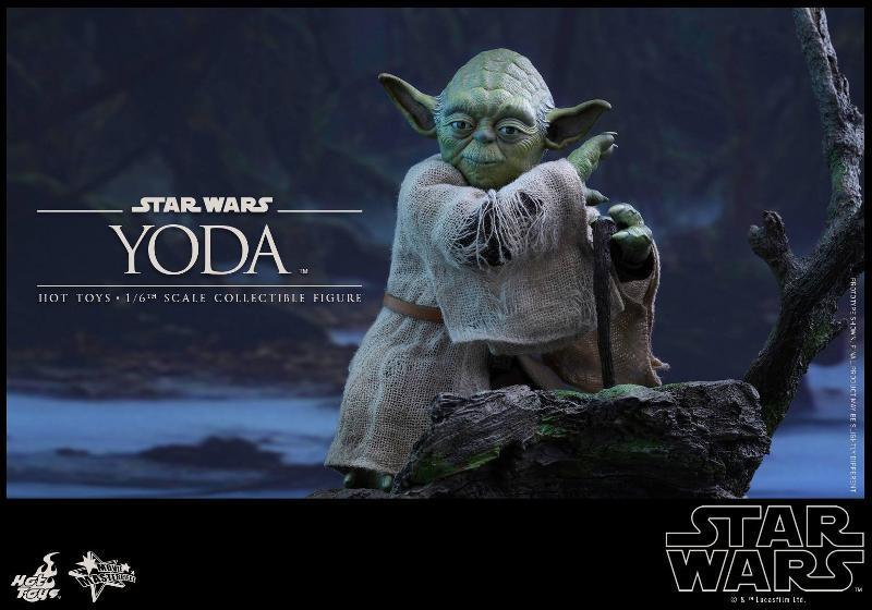Hot Toys Star Wars V - 1/6th scale Yoda Collectible Figure Yoda0610