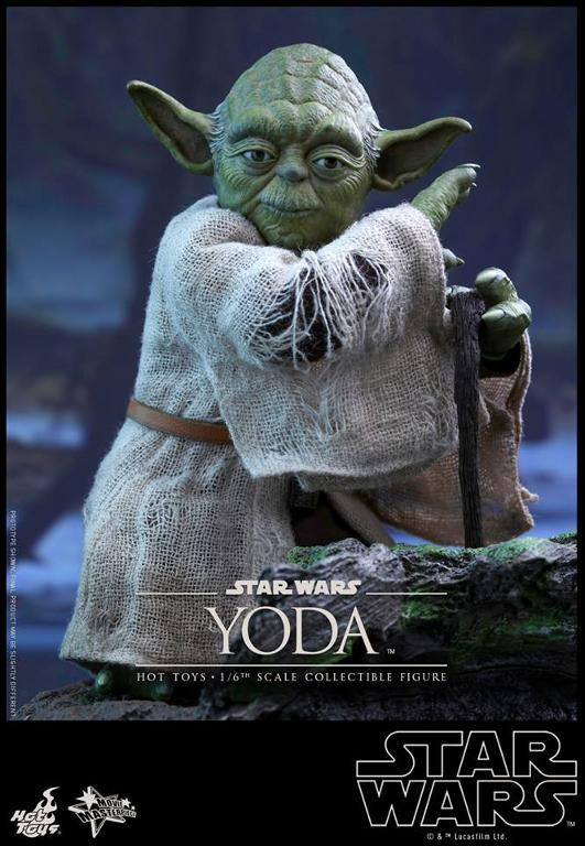 Hot Toys Star Wars V - 1/6th scale Yoda Collectible Figure Yoda0710
