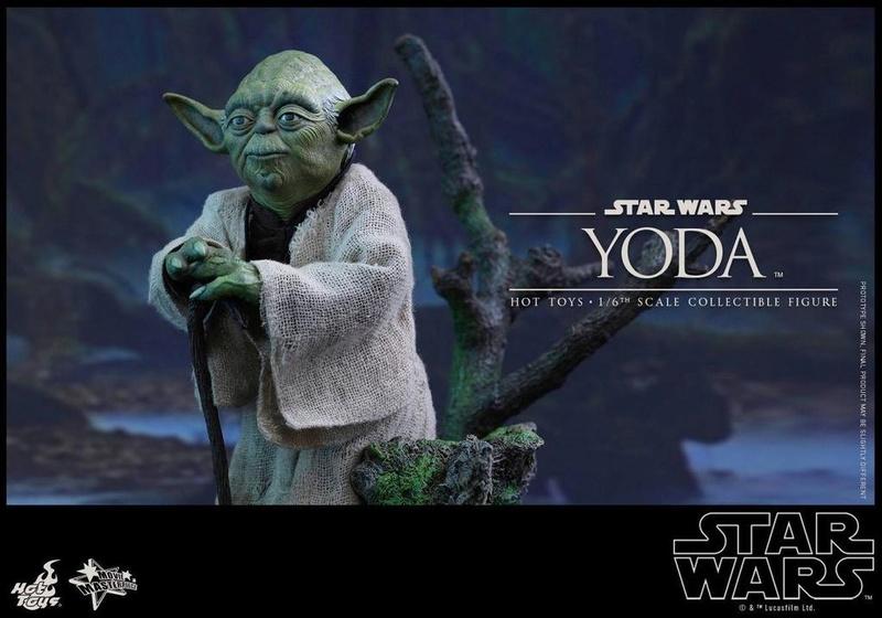 Hot Toys Star Wars V - 1/6th scale Yoda Collectible Figure Yoda0810