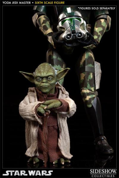 Yoda Jedi Master Sixth Scale Figure Yoda0811