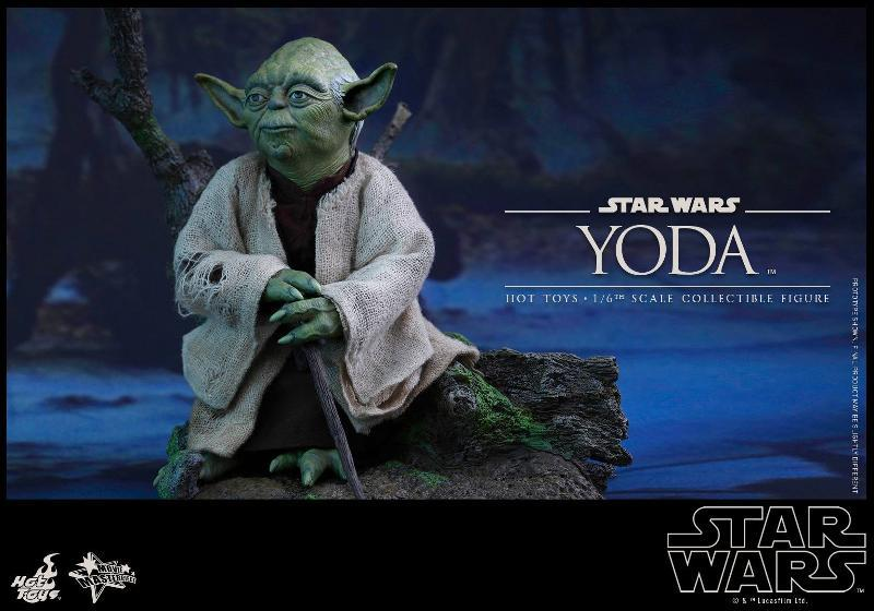 Hot Toys Star Wars V - 1/6th scale Yoda Collectible Figure Yoda0910