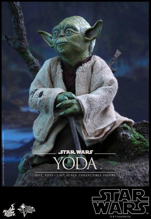 Hot Toys Star Wars V - 1/6th scale Yoda Collectible Figure Yoda1010