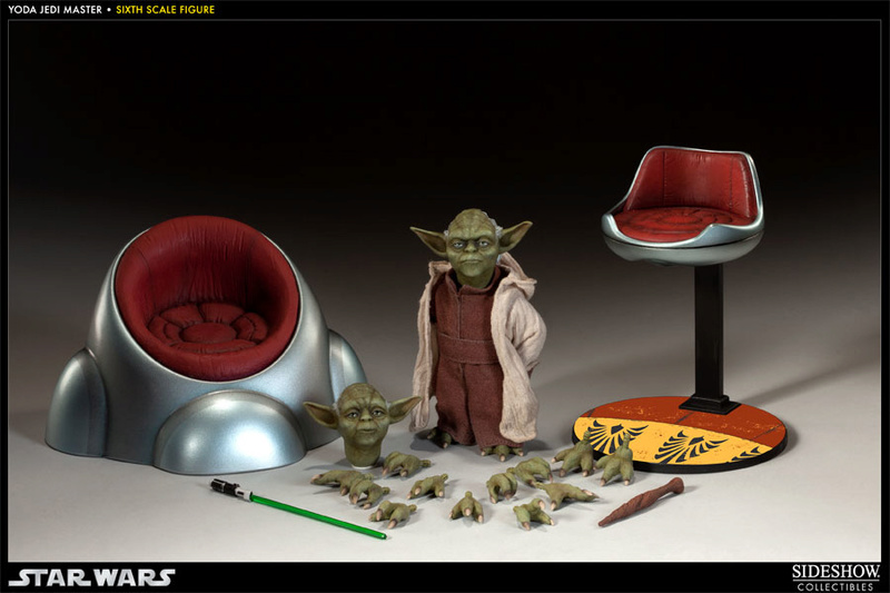 Yoda Jedi Master Sixth Scale Figure Yoda1011