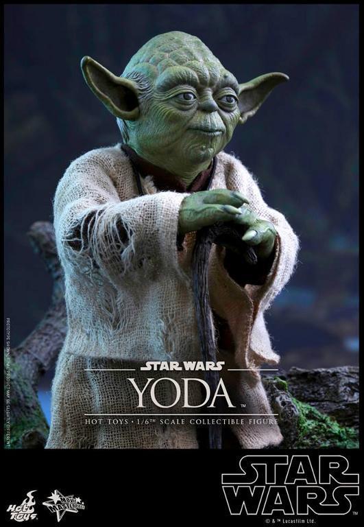 Hot Toys Star Wars V - 1/6th scale Yoda Collectible Figure Yoda1210