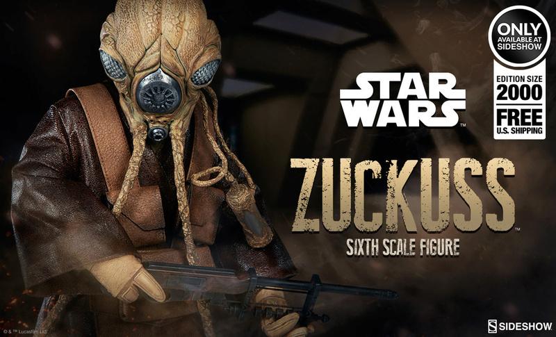 Sideshow Collectibles - Zuckuss Sixth Scale Figure Zuckes11