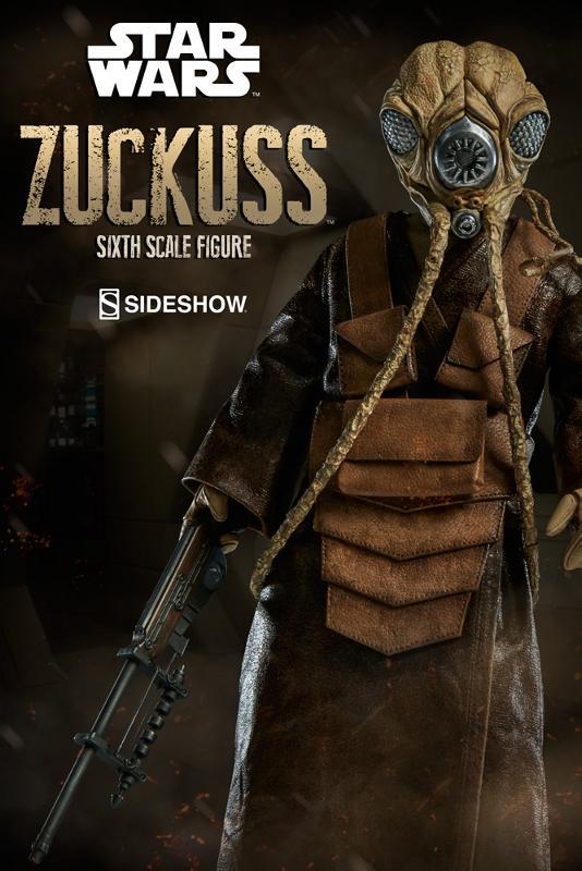 Sideshow Collectibles - Zuckuss Sixth Scale Figure Zuckus12