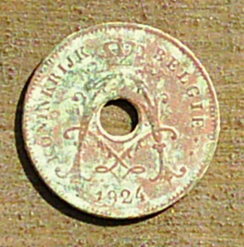 Albert 1er 10 cent 1924 type Michaux 0112