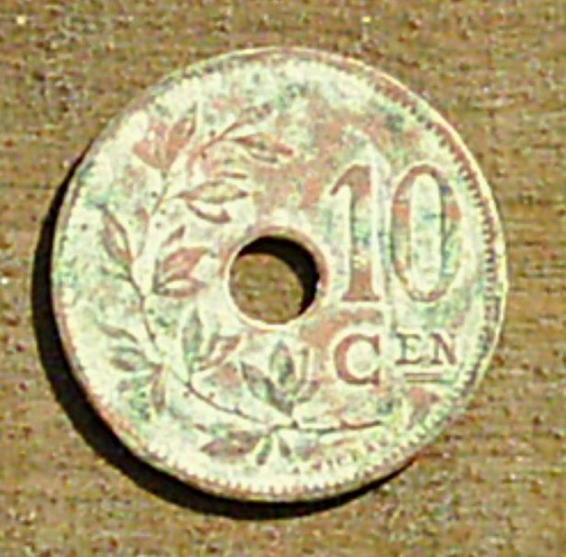 Albert 1er 10 cent 1924 type Michaux 0211
