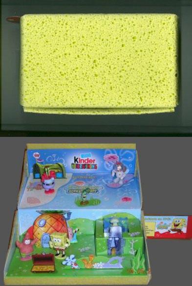 Sponge Bob Squarepants / Bob L'éponge (Kinder) 2005 Ue-ei-10