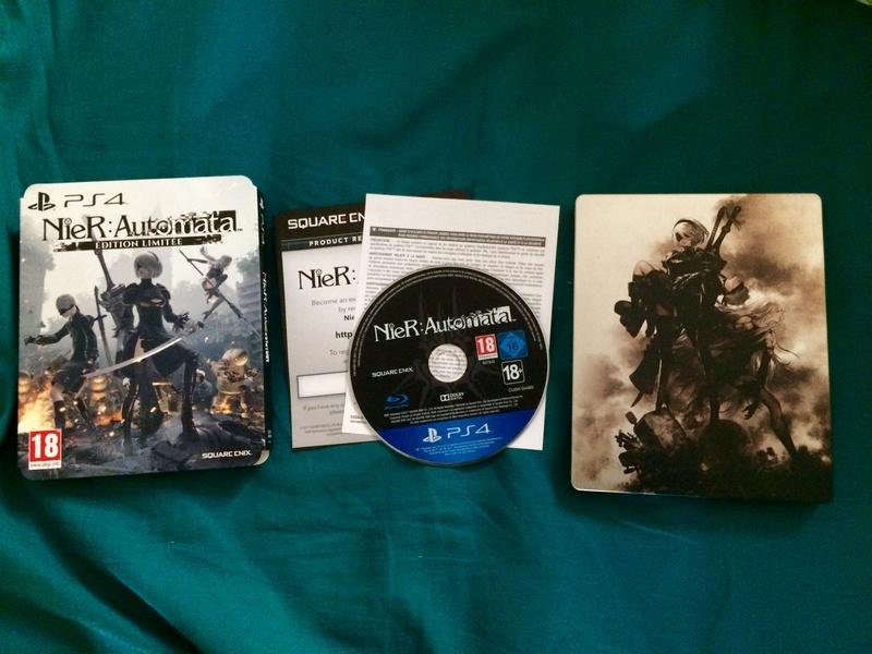 [VDS] lot PSP go + acc., Nier Automata ed. Lim., Rise of Tomb Raider Image12