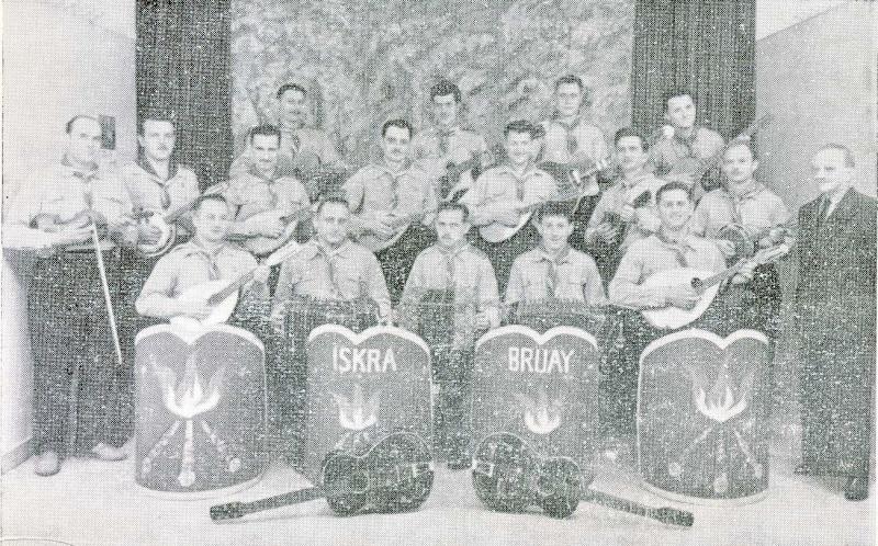 """Discogr. de l'Orchestre de Mandolines """" ISKRA """" I910"""