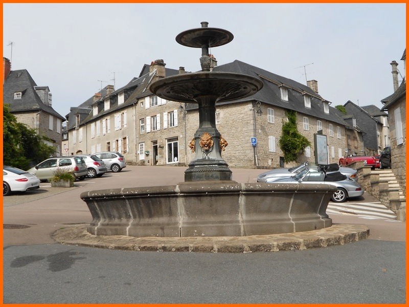 Corrèze (19) Meymac / fontaines Meymac11