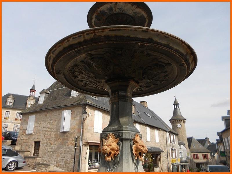 Corrèze (19) Meymac / fontaines Meymac13