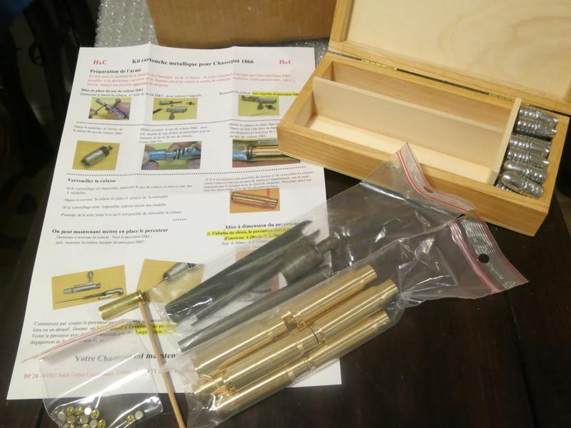 """kit de conversion """"cartouche métallique"""" pour CHASSEPOT par H&C Img_5026"""