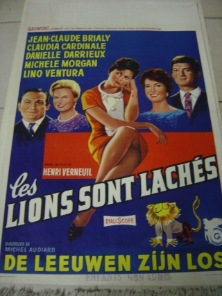 Les Lions sont lâchés Affich10