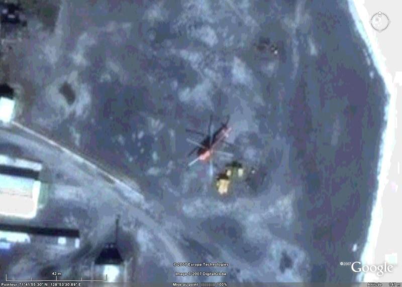Helicoptères sur la base aérienne de Tiksi, Yakoutie (Sibérie) - Russie Helico10