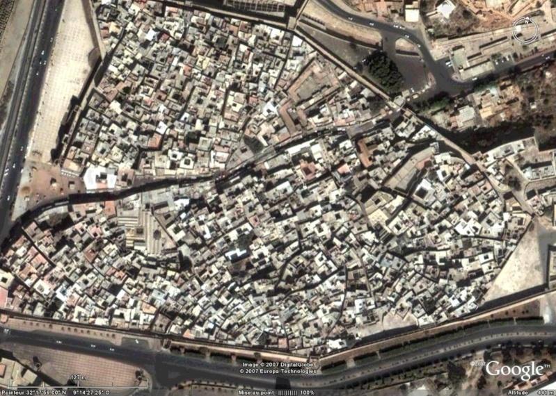 Le MAROC existe sur Google Earth (VENEZ ET PARTICIPEZ) Medina10
