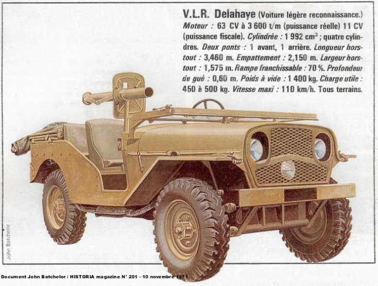 Jeep de fabrication Française Delaha10