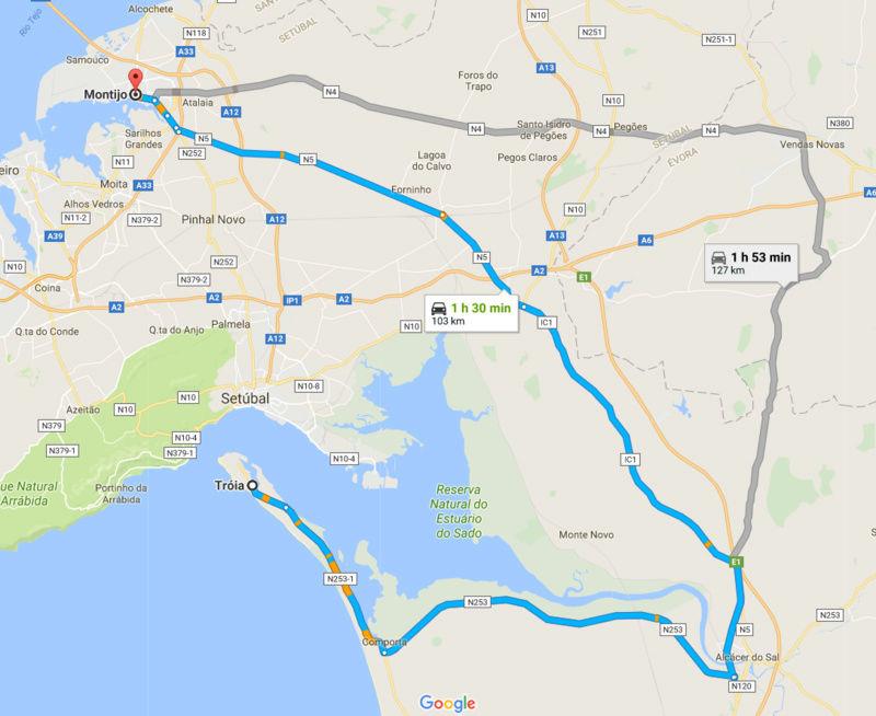 20/08/2017... Domingo na Península de Tróia Montij10