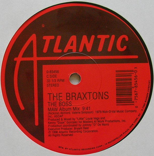 The Braxtons – The Boss- Atlantic Rec- 1996. Braxto10