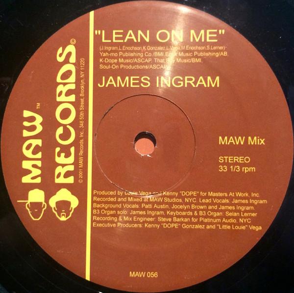 James Ingram - Lean On Me [Todd Terry RMX]- MAW Rec- 2001 James_10