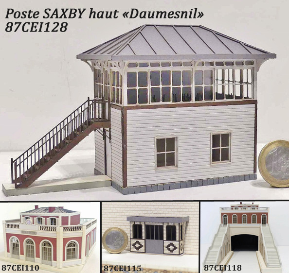 "[Architecture & Passion] Poste SAXBY haut ""Daumesnil"" 87cei110"